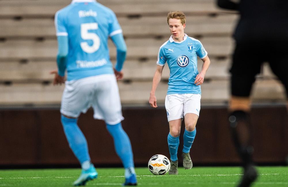 Edvardsson och Rapp fick debutera i MFF:s förlustmatch