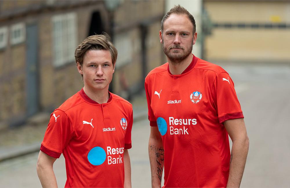 Helsingborgs IF lanserar årets matchtröja – och ny webbshop