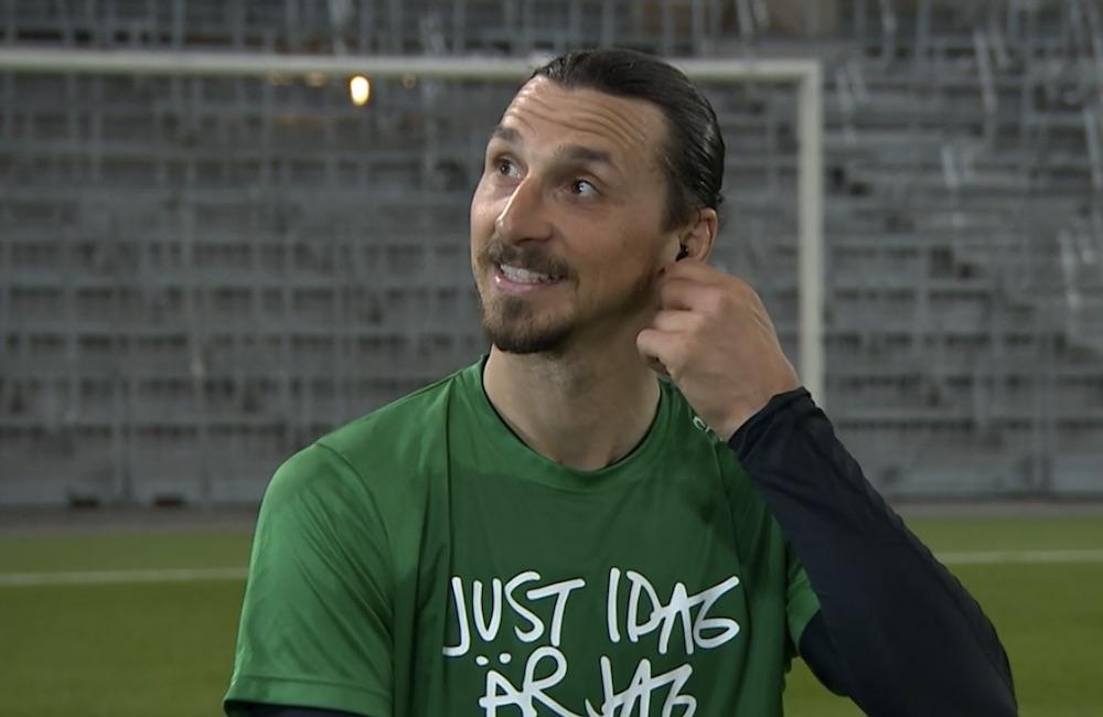 """TV: Ibrahimovic om den rivna statyn: """"Det är dagisnivå"""""""