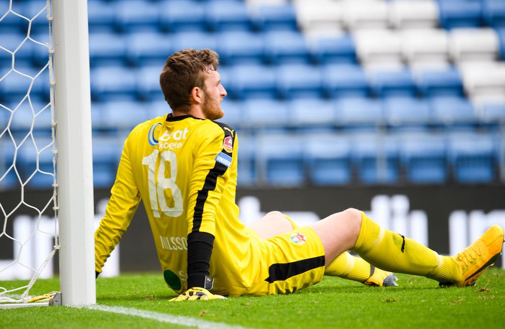 """Nilsson släppte in mål till slut: """"Frustration hur enkelt de får slå in den"""""""