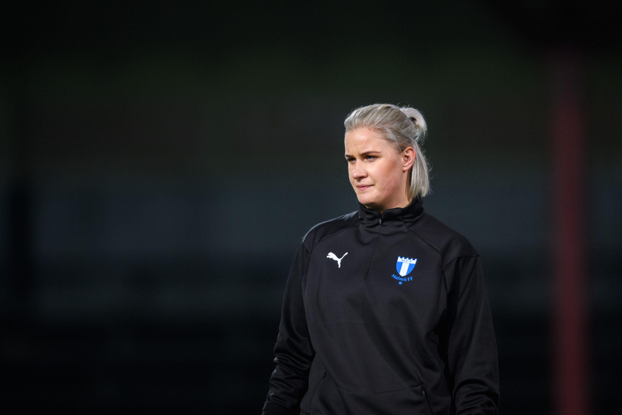 Emelie Erlandsson gjorde sju mål när MFF vann med 24-0
