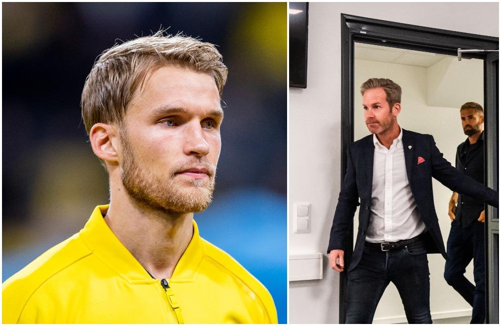 """Sebastian Andersson övergång ger pengar till HIF: """"Välkommet"""""""