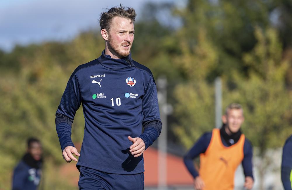 """Rasmus Jönsson ute på träningsplanen: """"Inte långt kvar"""""""