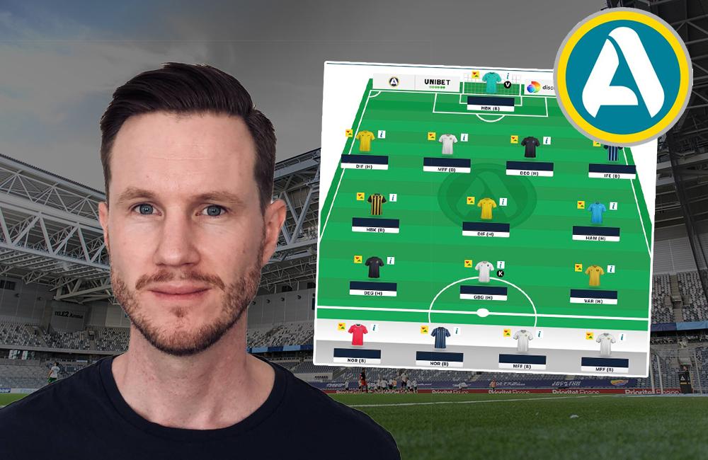 """Mitt Fantasy-lag –Oskar Månsson: """"Jag snålar på anfallssidan"""""""