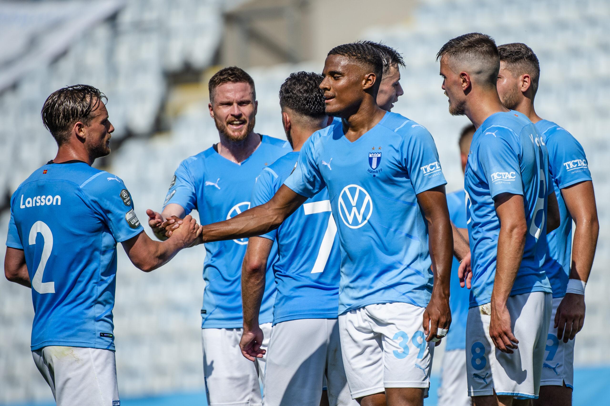 Ett mål och en assist av Amin Sarr i segern mot Elfsborg