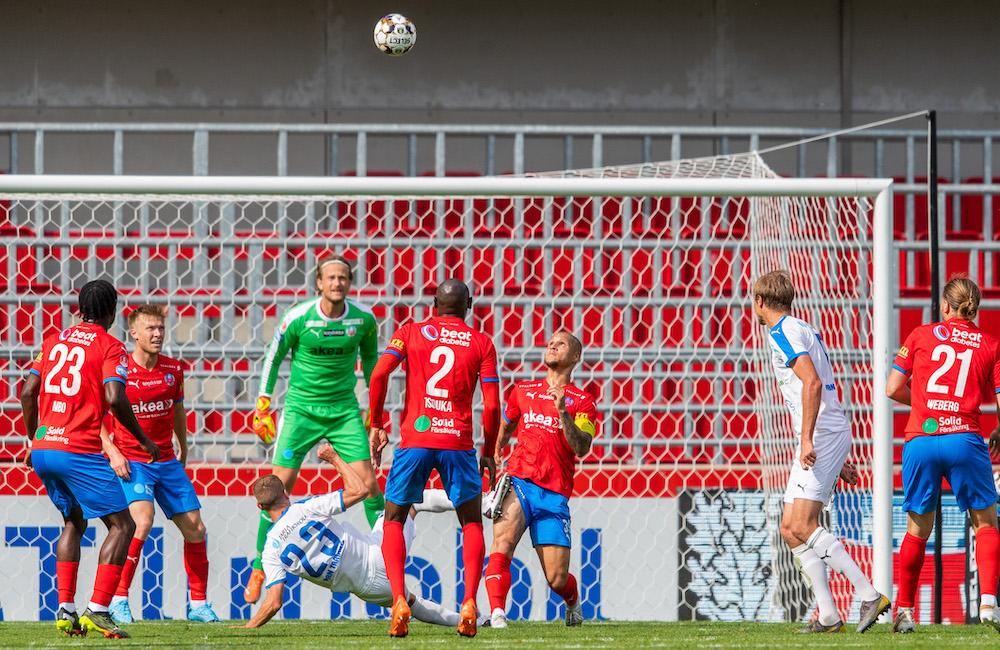 Helsingborgs IF:s defensiv: tre insläppta på sju matcher