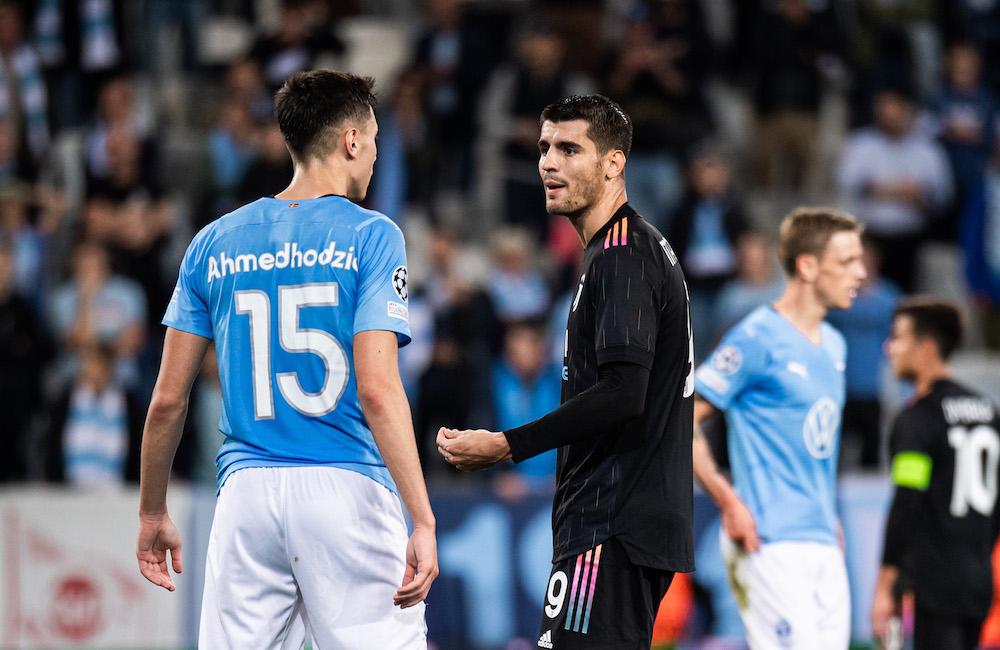 Sju siffror efter MFF-Juventus: Svagt duellspel, godkänt passningsspel