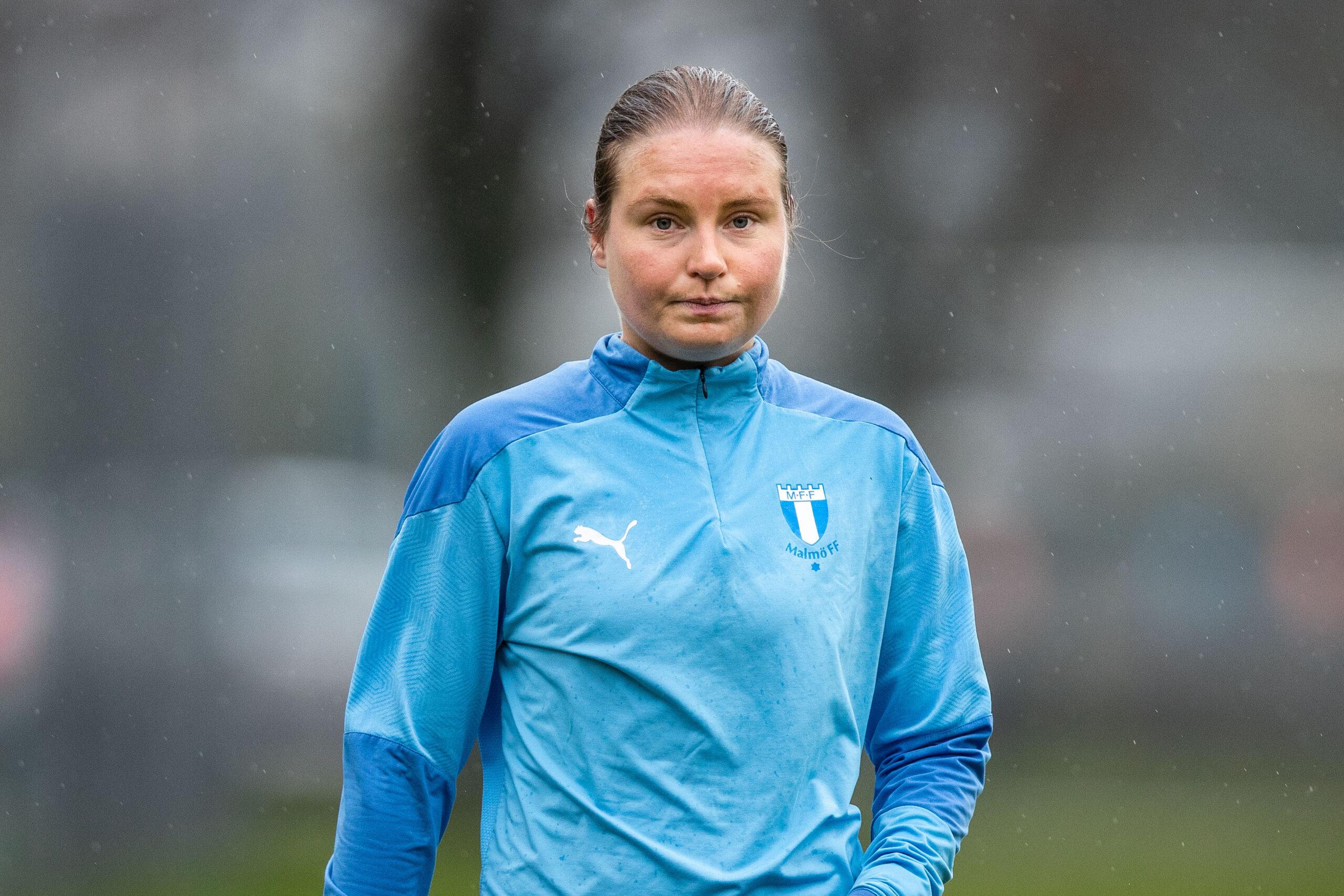 Hat-trick av Rebecka Holm när MFF slog Husie med 7-0