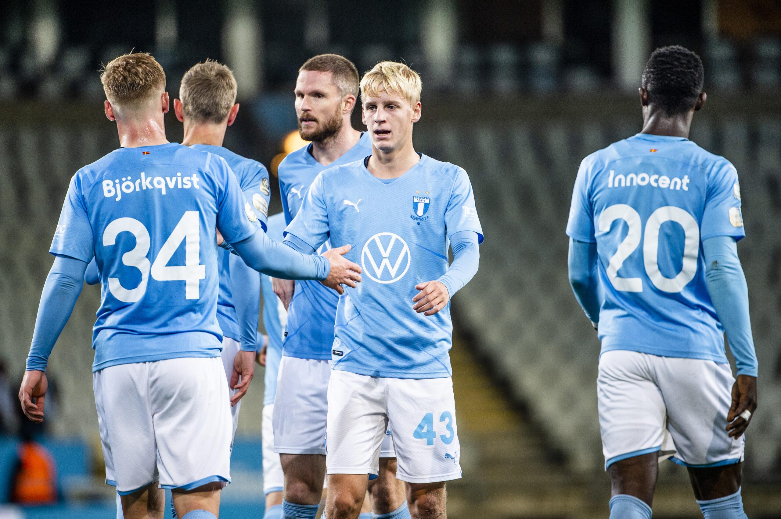 Emil Lindman gjorde ett starkt inhopp i MFF:s cupseger